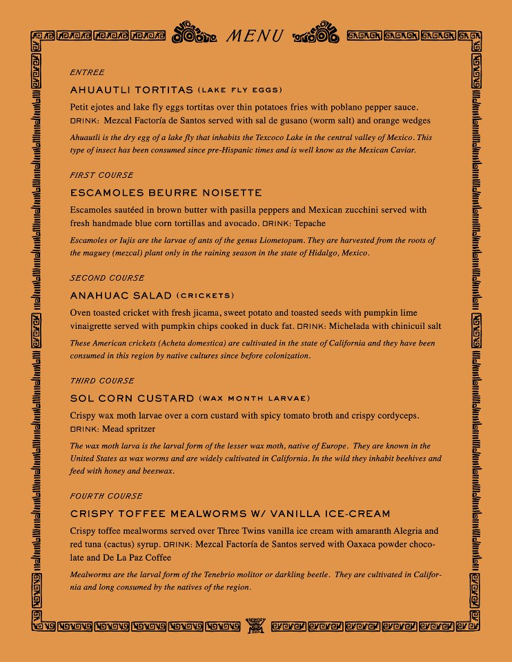 Headlands Don Bugito Menu